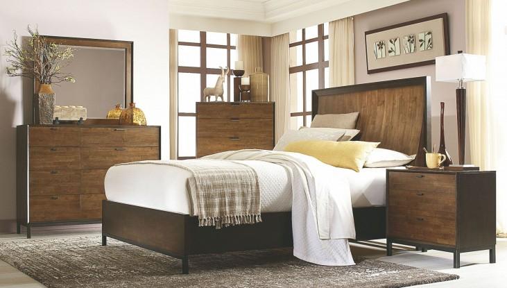 Kateri Curved Panel Bedroom Set