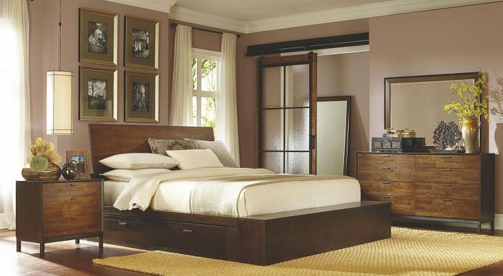 Kateri One Underbed Storage Drawer Platform Bedroom Set