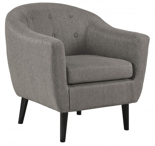 Klorey Charcoal Accent Chair