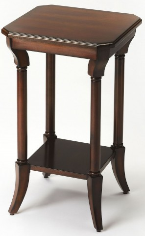 Darla Plantation Cherry Accent Table