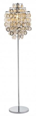Shimmy Chrome Floor Lamp