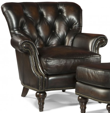 Hamilton Stetson Coffee Leather Chair