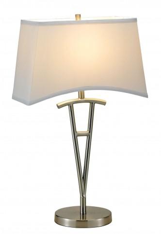 Taylor Satin Steel Table Lamp