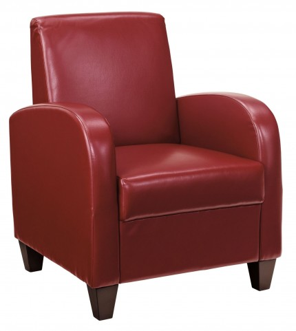Loe Scarlet Accent Chair