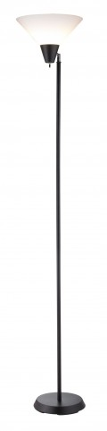 Swivel Black Floor Lamp