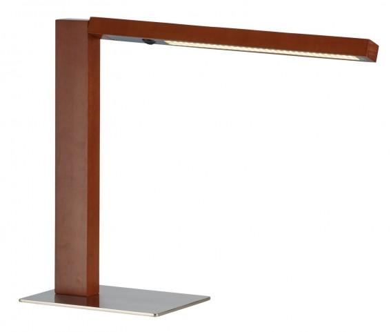 Linden Dark Walnut Led Desk Lamp