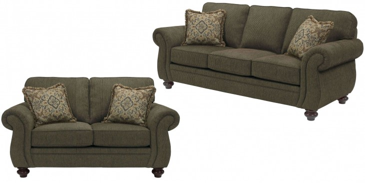Cassandra Affinity Chenille Fabric Living Room Set