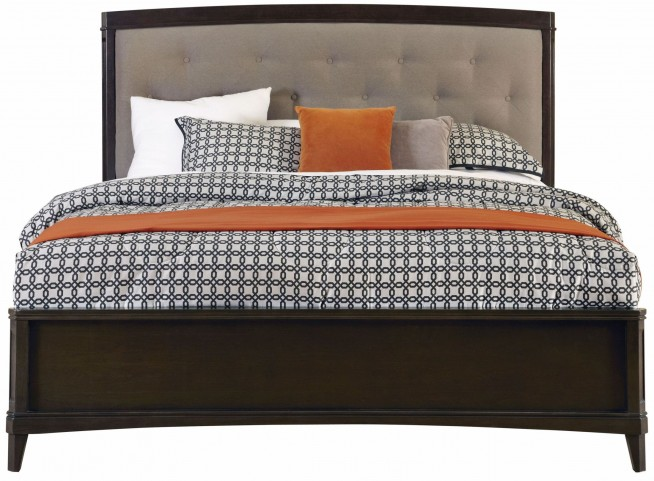 Juliette Mink King Upholstered Panel Bed
