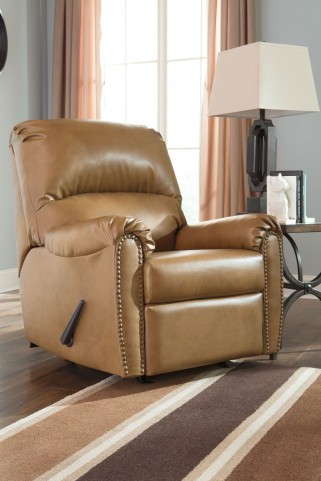 Lottie DuraBlend Almond Rocker Recliner