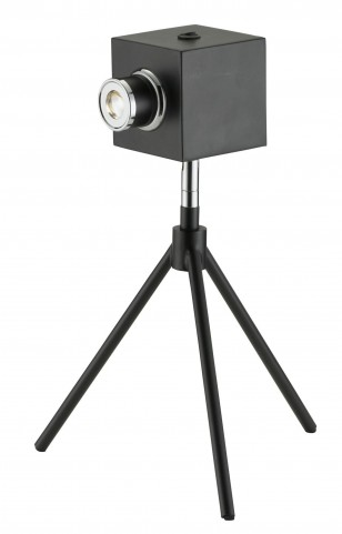 Click Black Led Desk Lamp