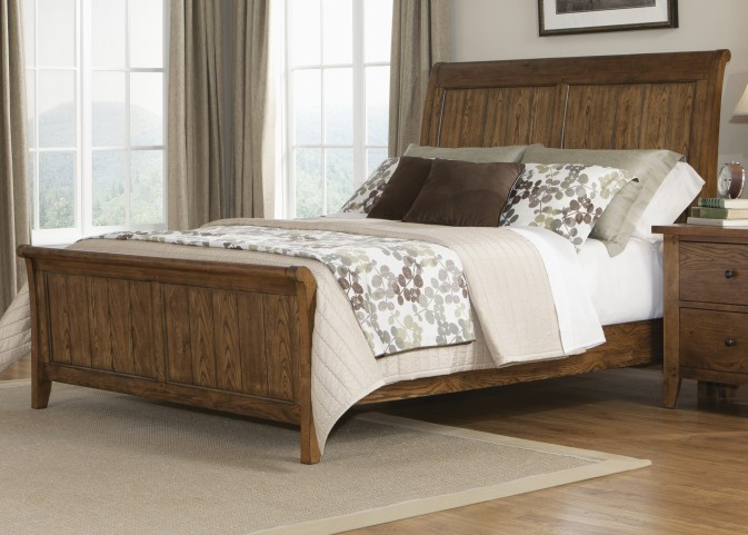 Hearthstone Queen Sleigh Bed