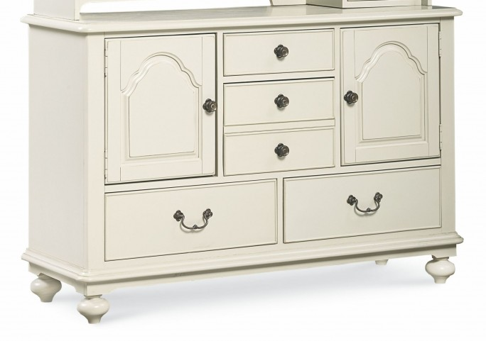 Inspirations Seashell White 2 Door Dresser