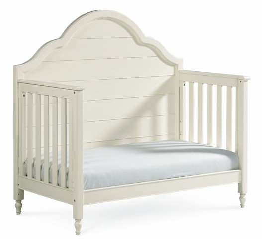 Inspirations Seashell White Grow With Me Convertible Crib