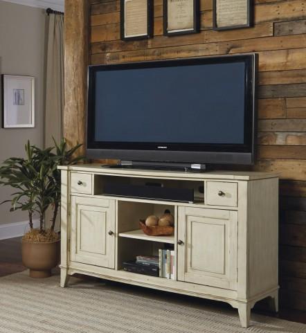 Harbor Ridge Rustic Ivory TV Console