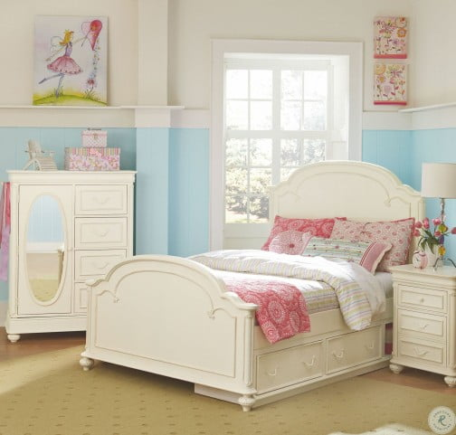 Charlotte Youth Arched Panel Bedroom Set