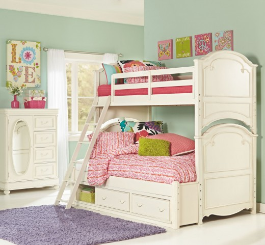Charlotte Bunk Bedroom Set