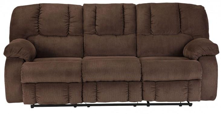 Roan Cocoa Reclining Sofa