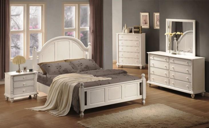 Kayla White Bedroom Set - 20118