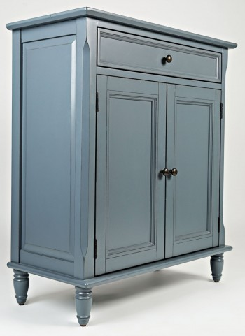 Avignon Cornflower Blue Accent Cabinet