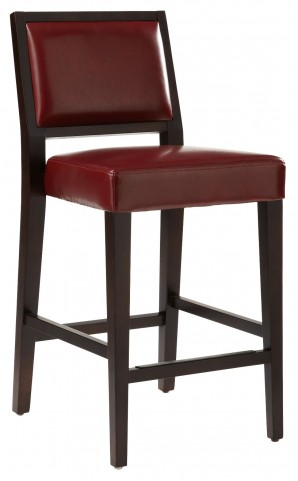 Citizen Oxblood Counter Stool