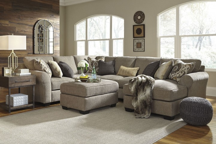 Pantomine Driftwood RAF Chaise Sectional