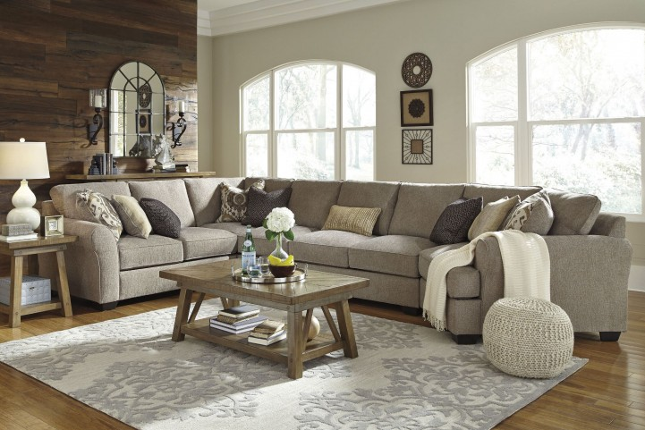 Pantomine Driftwood RAF Large Cuddler Sectional