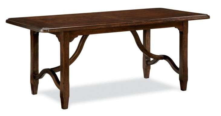 Riverhouse River Bank Kitchen Rectangular Extendable Dining Room Table