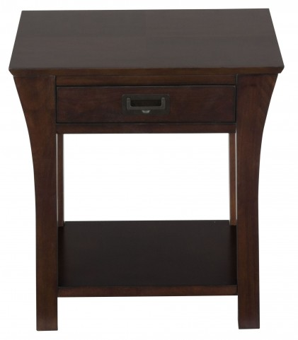 Artisan Dark Brown End Table