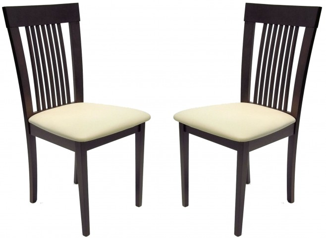Beechwood Hartford Coffee Dining Chair Set of 2