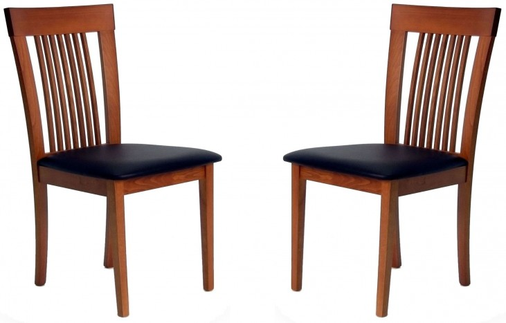 Beechwood Hartford Cherry Dining Chair Set of 2