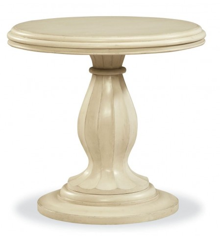 Riverhouse River Boat Round End Table