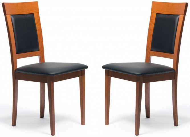 Beechwood Newport Cherry Dining Chair Set of 2