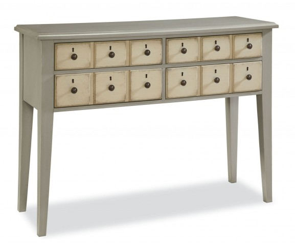 Riverhouse Oyster Shell Apothecary Console