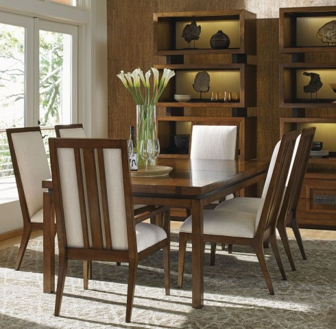 Island Fusion Marquesa Rectangular Dining Room Set