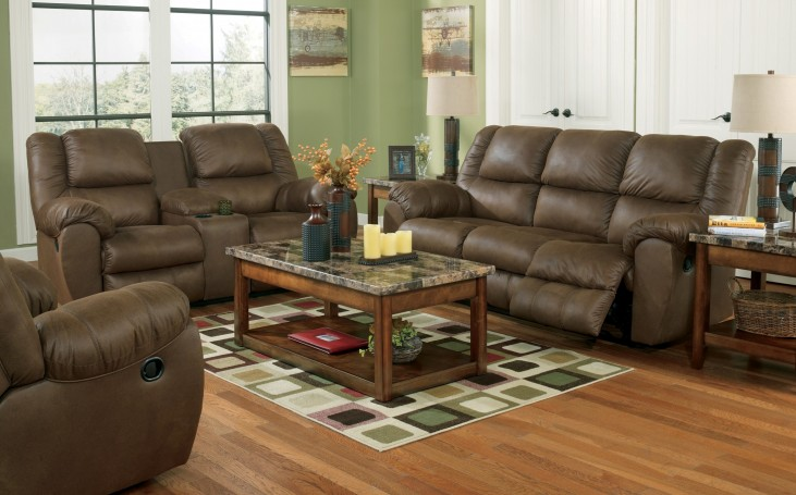 Quarterback Canyon Reclining Living Room Set