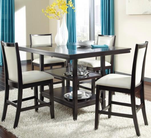 Trishelle Rectangular Counter Dining Room Set