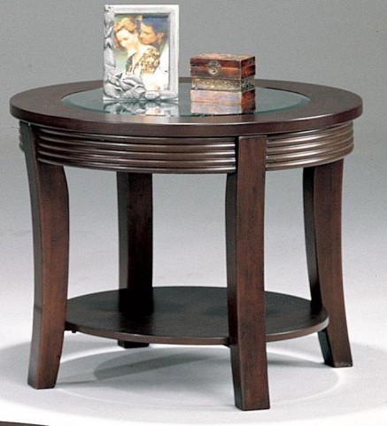 Devon Cappuccino Finish End Table 5524