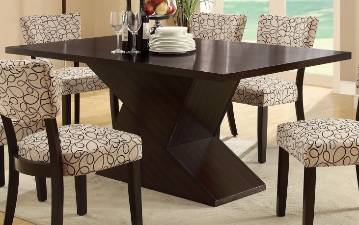Libby Cappuccino Dining Table