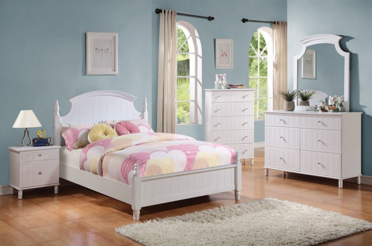 Bethany Youth Low Poster Bedroom Set