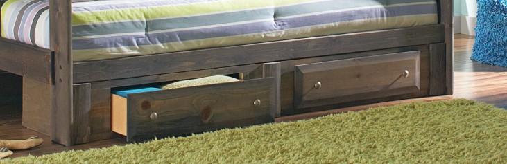 Wrangle Hill Gun Smoke Under Bed Storage