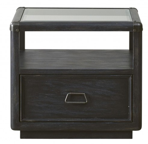 Vintage Tempo Unique Charcoal End Table