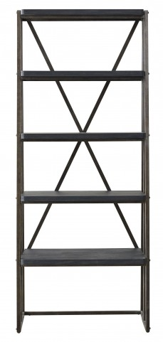 Vintage Tempo Unique Charcoal Etagere