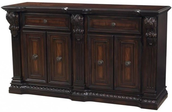 Grand Estates Cinnamon Sideboard