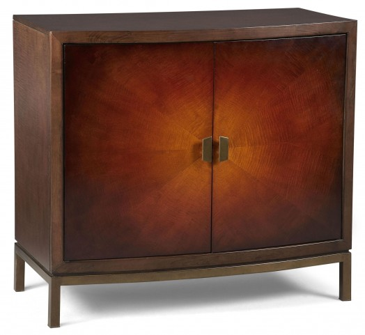 Modern Harmony Burnished Walnut Accent Chest