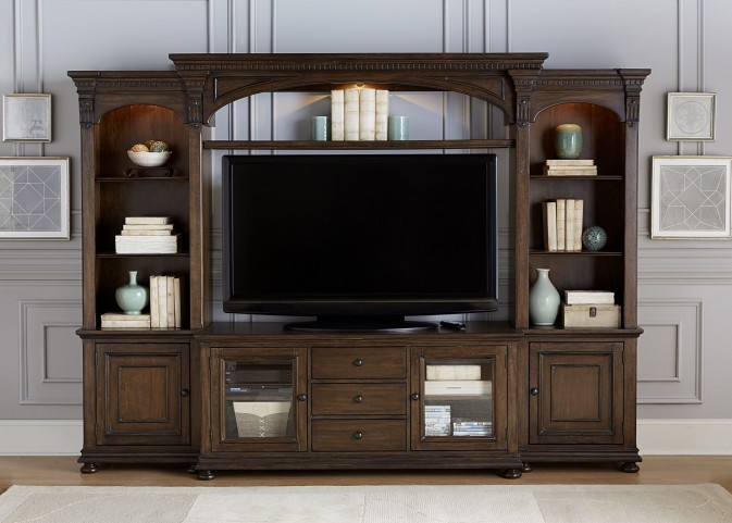 Jameson Antique Coffee Entertainment Wall