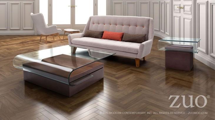 Mystic Walnut Occasional Table Set