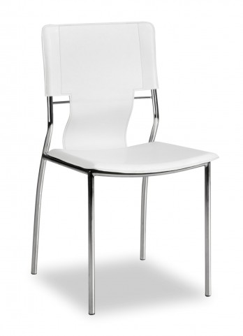 Trafico Dining Chair White Set of 4