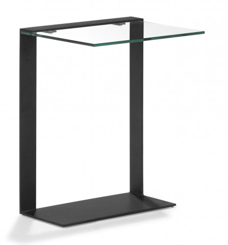 Zeon Side Table Black