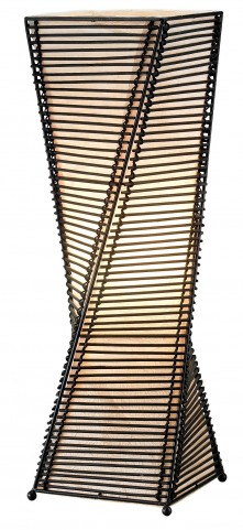 Stix Black Table Lantern