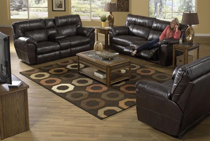 Nolan Godiva Reclining Living Room Set
